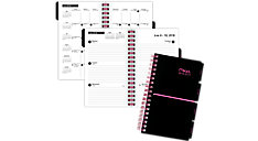 Academic Weekly-Monthly Pocket Planner with Bungee (Item # CAW304)