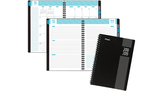 Mead Type Treatment Weekly-Monthly Student Planner  (CAW403)