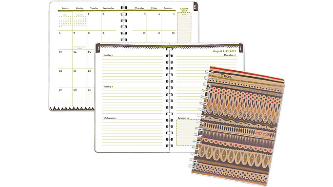Mead Botanical Boutique Academic Student Planner  (CAW407)