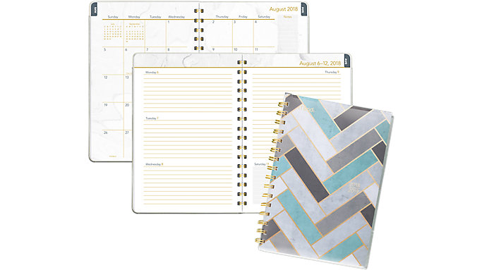 Mead Modern Chic Academic Student Planner  (CAW407)