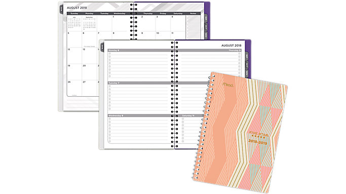 Five Star Weekly-Monthly Student Planner  (CAW409)