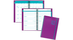 Color Pop Academic Weekly-Monthly Planner with Bungee (Item # CAW411)