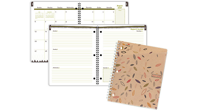 Mead Botanical Boutique Academic Student Planner  (CAW507)