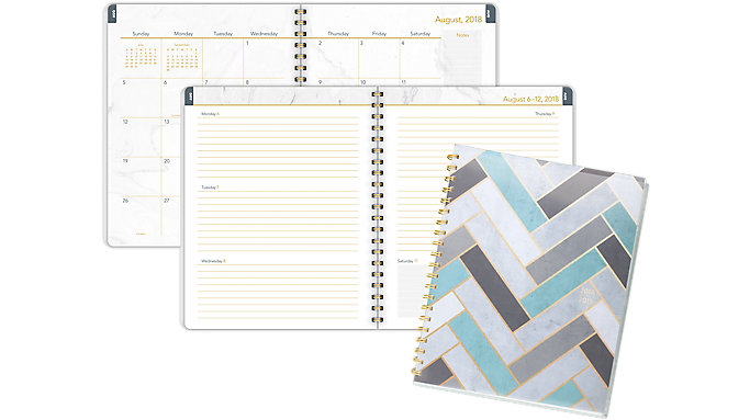 Mead Modern Chic Academic Student Planner  (CAW507)