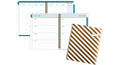 Gold and Bold Academic Weekly-Monthly Planner (Item # CAW508)