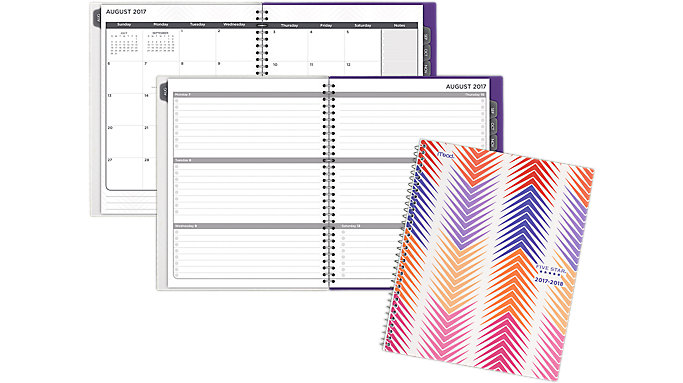 Five Star Weekly-Monthly Student Planner  (CAW509)