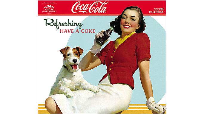 AMCAL Coca-Cola Wall Calendar  (CCCW04)
