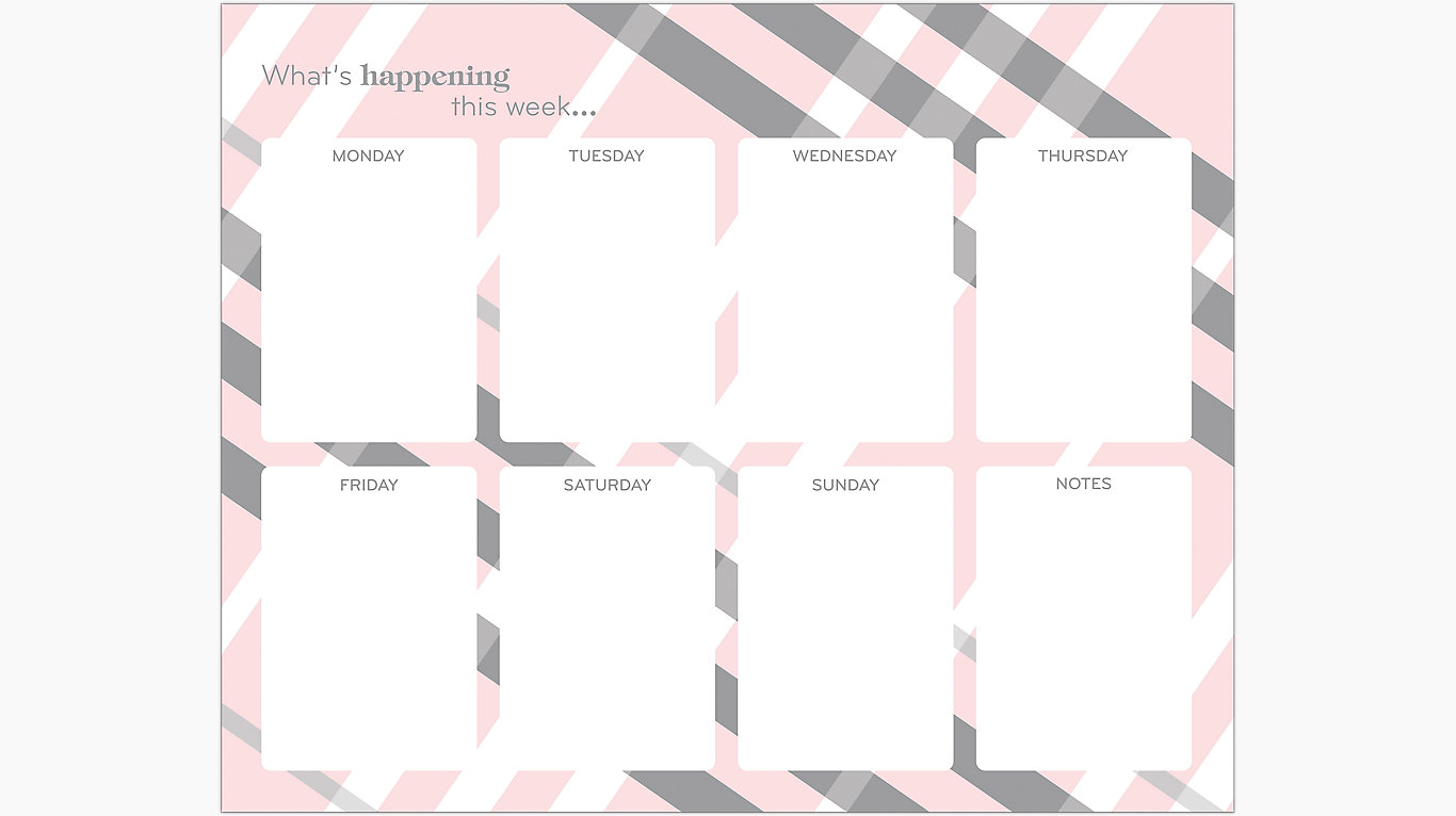 Mead Simplicity Weekly Planning Pad