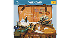 Charles Wysocki Cat Tales Wall Calendar (Item # CWCW05)