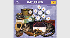 Charles Wysocki Cat Tales Monthly Wall Calendar (Item # CWCW05)