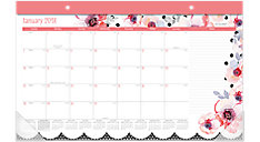 Kathy Davis Compact Monthly Desk Pad (Item # D1035-705)