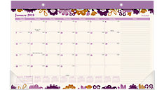 Ingrid Compact Monthly Desk Pad (Item # D1042-705)