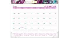 Agate Monthly Desk Pad Calendar (Item # D1053-704)
