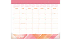 Painted Love Monthly Desk Pad (Item # D1066-704)