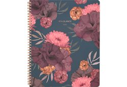 AT-A-GLANCE Dark Romance Floral Planner