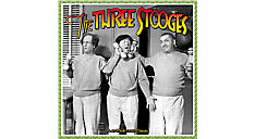 The Three Stooges Wall Calendar (Item # DDD130)