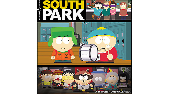 Day Dream South Park Wall Calendar  (DDD187)