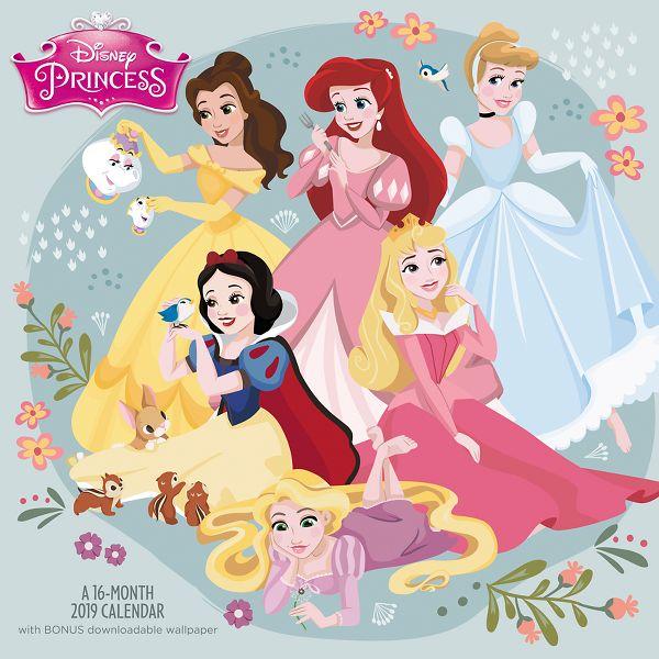 Day Dream Disney Princess Wall Calendar - Wall Calendars