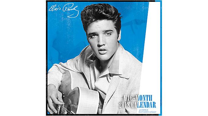 Day Dream Elvis Wall Calendar  (DDD373)