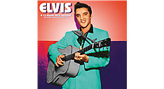 Elvis The King of Rock 'n' Roll Wall Calendar (Item # DDD373)