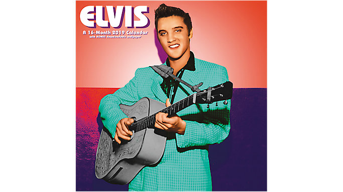 Day Dream Elvis The King of Rock 'n' Roll Wall Calendar  (DDD373)