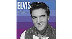 Elvis Presley 12x12 Monthly Wall Calendar (Item # DDD373)
