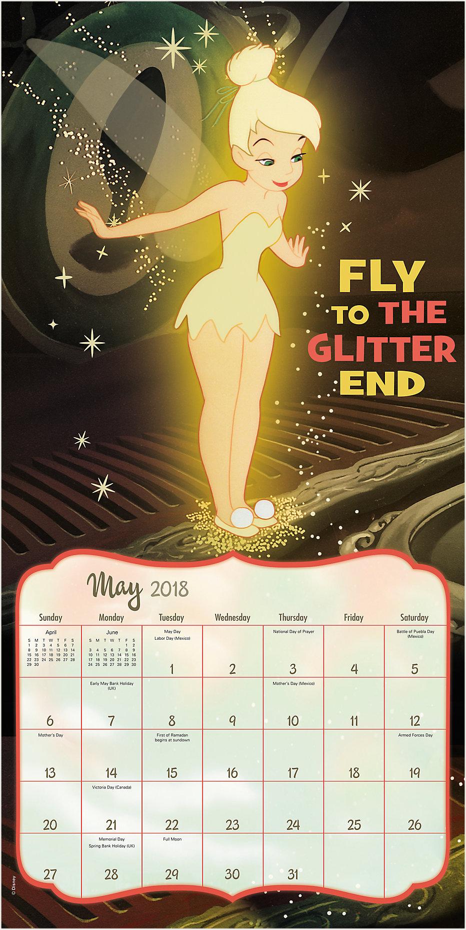 Disney Tinker Bell Wall Calendar | DDD402 | Day Dream