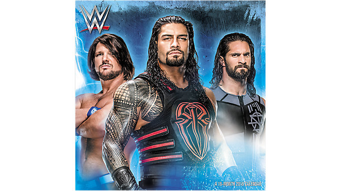 Day Dream WWE Wall Calendar  (DDD474)