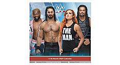 WWE 12x12 Monthly Wall Calendar (Item # DDD474)