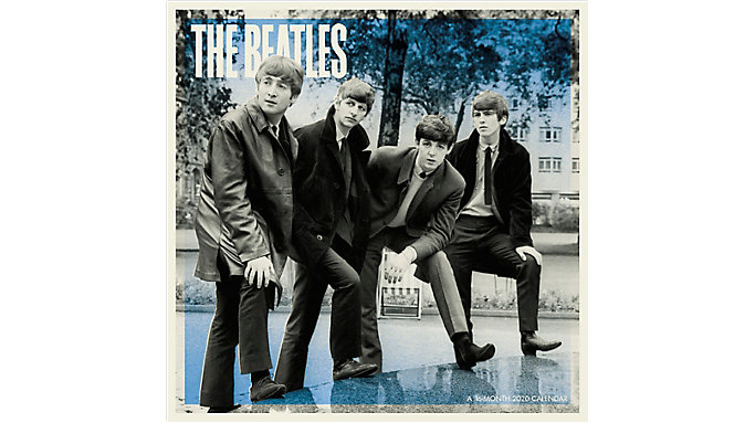 The Beatles 12x12 Monthly Wall Calendar | DDD526 | Mead