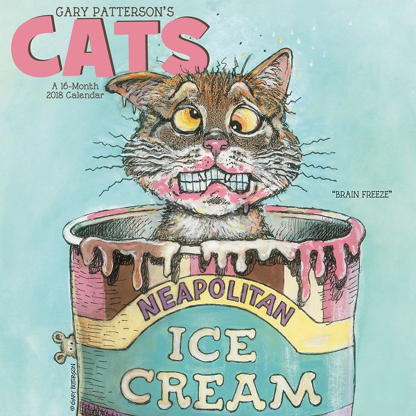 Day Dream Gary Pattersons Cats Wall Calendar - Decorative Calendars DDD5502818