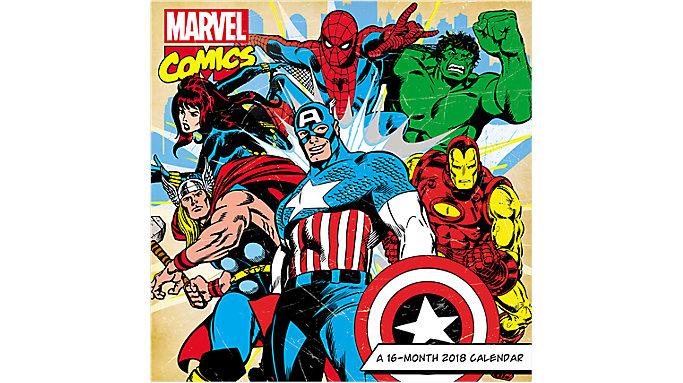 Day Dream Marvel Avengers Assemble Wall Calendar  (DDD593)
