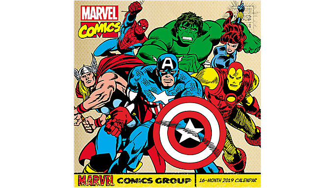 Day Dream MARVEL Comics Wall Calendar  (DDD593)