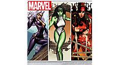 MARVELS Women of Marvel 12x12 Monthly Wall Calendar (Item # DDD670)