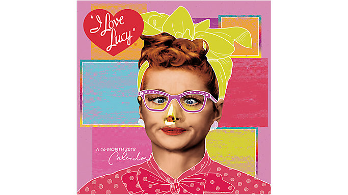Day Dream I Love Lucy Wall Calendar  (DDD741)
