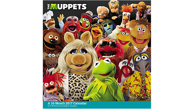Day Dream 2017 Disney The Muppets Wall Calendar - Decorative Calendars 900450