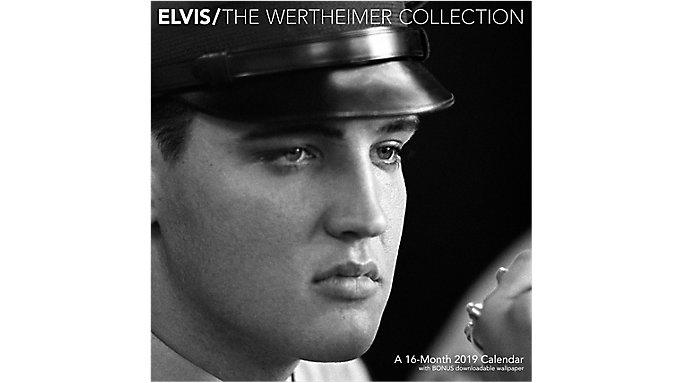 Day Dream Elvis The Wertheimer Collection Wall Calendar  (DDD869)