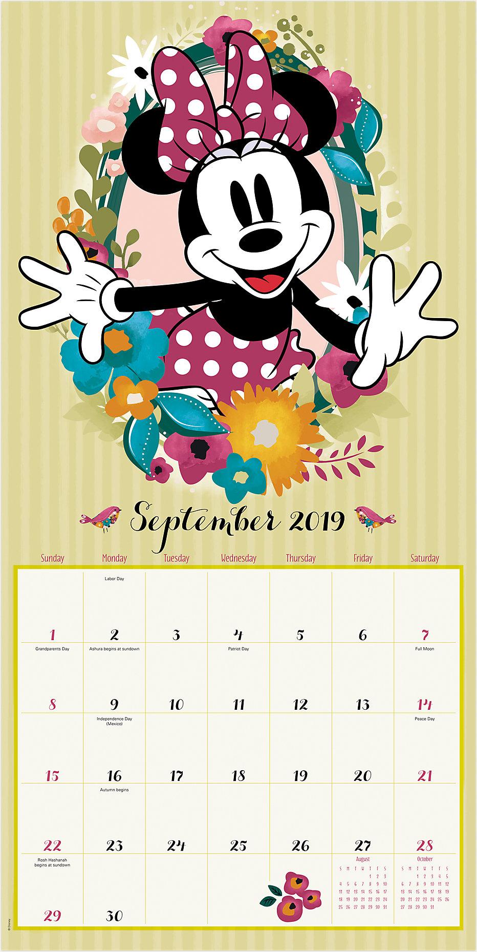 Disney Minnie Mouse Wall Calendar | DDD895 | Day Dream