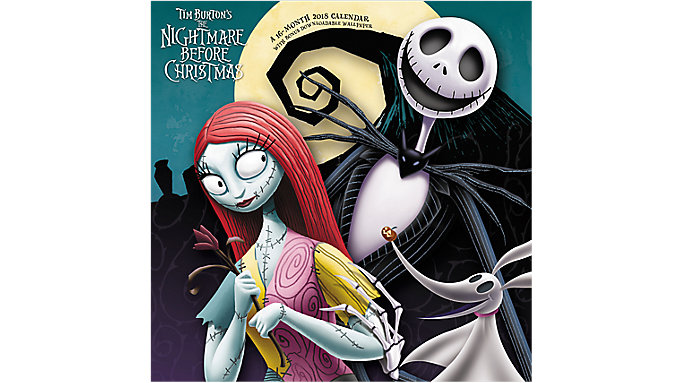 Day Dream The Nightmare Before Christmas Wall Calendar  (DDD946)