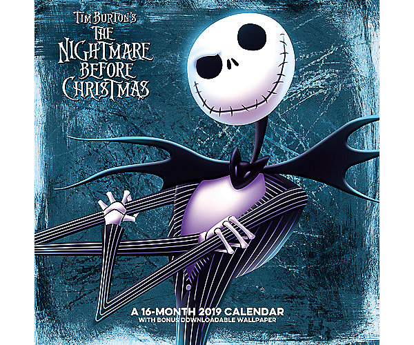the nightmare before christmas wall calendar ddd946 day dream