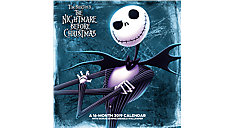 The Nightmare Before Christmas Wall Calendar (Item # DDD946)