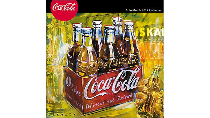 Day Dream 2017 Coca-Cola Wall Calendar - Decorative Calendars 900618