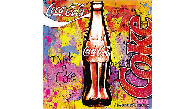 Day Dream Coca-Cola Wall Calendar  (DDD948)