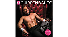 Chippendales 12x12 Monthly Wall Calendar (Item # DDD958)