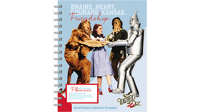 Day Dream The Wizard of Oz Weekly-Monthly Planner with Tabs  (DDEN13)