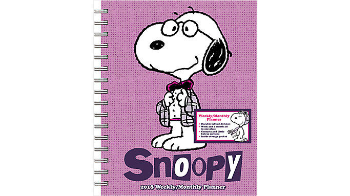Day Dream Peanuts Weekly-Monthly Planner with Tabs  (DDEN20)
