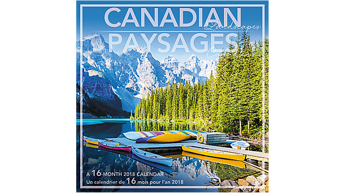 Day Dream Canadian Landscapes Bilingual Wall Calendar  (DDF707)