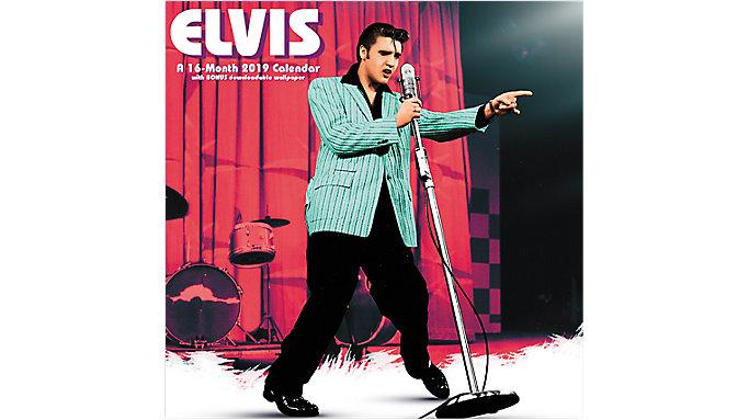Day Dream Elvis Mini Wall Calendar  (DDMN02)