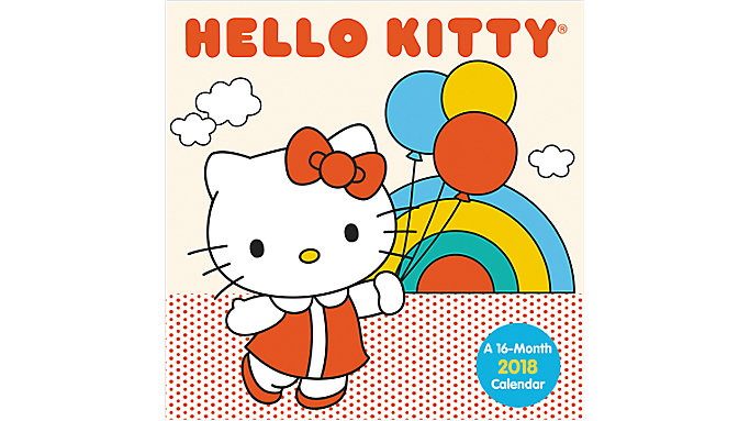 Day Dream Hello Kitty Mini Wall Calendar  (DDMN37)