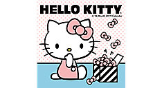 Hello Kitty Mini Wall Calendar (Item # DDMN37)